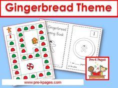 Gingerbread theme ideas for your preschool or kindergarten classroom