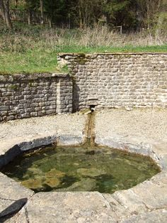 The Nymphaeum, Chedworth Roman Villa © Rob Farrow . Check out this image guys, its the best! Ancient Roman Houses, Ancient Rome, Roman Architecture, Ancient Architecture, Little Pool, Roman Britain, Roman Emperor, Roman Art, Spring Nature
