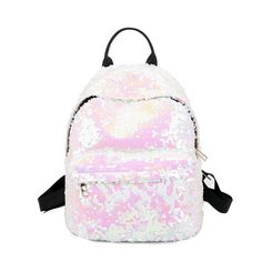 be896fcb1d2a Hot Sale Women Backpack Sequins School Back Pack New Fashion Female High  Quality holographic Travel Bag Bling Studen School Bag