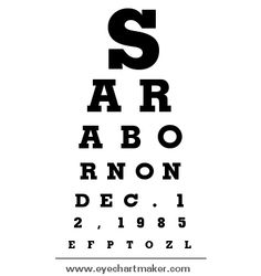 Custom eye chart maker diy pinterest chart maker and chart