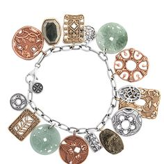 Check out this gorgeous bracelet and other sterling silver jewelry at mysilpada/Felicia.simpson