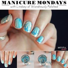 Manicure Monday: Water Marble Nail Tutorial - Lulus.com Fashion Blog