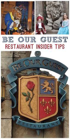 Must Do Disney: Photos and Video Review of Dining at Be Our Guest Restaurant Insider Tips!