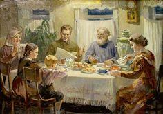 View album on Yandex. Orthodox Prayers, Habits Of Mind, Artist Brush, Family Affair, Russian Art, Russian Style, Christmas Art, Vintage Photographs, Family Life
