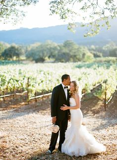 Pretty Vineyard Wedding