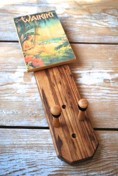 Wall Mount Ukulele Holder by Zonabark on Etsy, $45.00