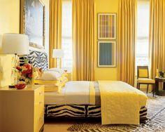 Dormitorio de Matrimonio Amarillo