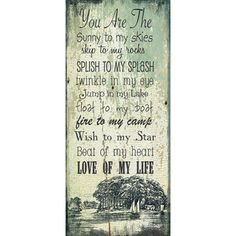 Jo Moulton Lake  Love Art Print