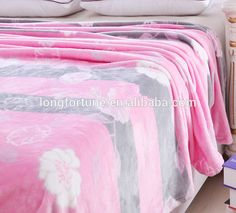 factory supply microfiber flannel fleece blanket /caroset blanket