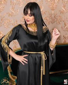Black Prom Dresses, Satin Dresses, New Girl Pic, Chen, Muslim Women Fashion, Moroccan Dress, Kurti Designs Party Wear, Girl Fashion, Fashion Outfits