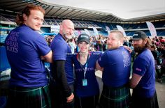 Team Outlander - Kiltwalk 2014