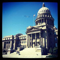 Boise Idaho capital building