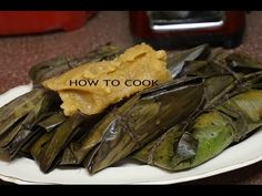 HOW TO MAKE JAMAICAN BLUE DRAWS DUKUNU RECIPE JAMAICAN ACCENT 2016 - YouTube