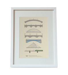 Bridges Of Dublin Print, €10,00