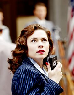 Agent Peggy Carter (Hayley Atwell)