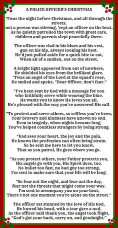 A Police Officer's Christmas