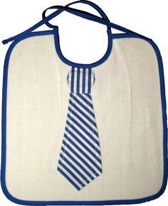Baby Latz mit Krawatte weiche Nicky Baumwoll Qualität