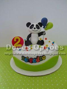 Doces Opções: O Panda no 2º aniversário do Zé Pedro