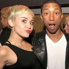"""Welcome To Testament Entertainment's Blog: Pharrell Defends Miley Cyrus' Fashion Style And Music: """"She Shuts It The F--k Down"""""""