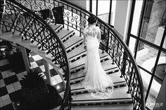 Francois Vedemme bespoke wedding gown Photo: Vividblue Photography