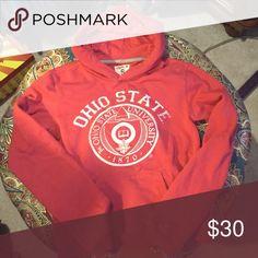 The Ohio state university Size small like new! Soft and warm hoodie! Tops Sweatshirts & Hoodies