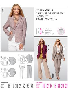 Pattern Reviews> Burda> 7559 (Misses Blazer)