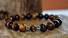 FREE SHIPPING  Men bracelet Beaded men bracelet by FosforStore, $59.00
