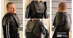 Destiny Hunter Chest Armor WIP 4 by SKSProps.deviantart.com on @DeviantArt