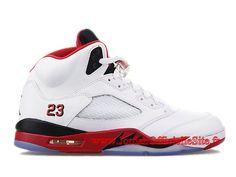 officiel-air-jordan-v5-retro-2013-chaussures-basket-jordan-pas-cher-pour-homme-blanc-rouge-136027-120-8.jpg (1024×768)
