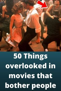 50 Things #overlooked in movies that #bother people