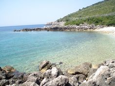 Himare beach, Albania