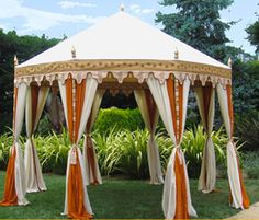 I want sort of a high victorian safari thing going on... love this tent.