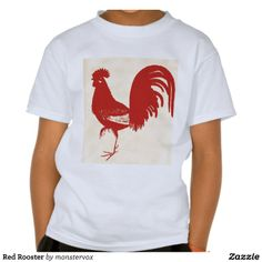 Red Rooster T-shirts #Rooster #Shirt #Tshirt #Tee