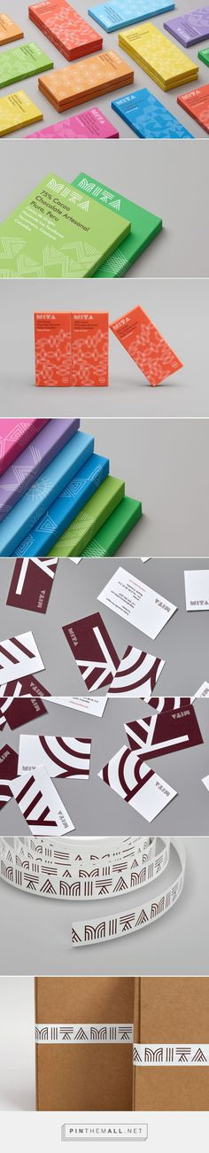 Mita Chocolate Packaging designed by Moniker SF​ - http://www.packagingoftheworld.com/2015/11/mita-chocolate.html