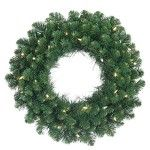 Christmas wreath, front door wreath,  outdoor Christmas wreath. Our stunning selection of artificial wreaths and garlands allow you to enjoy all the beauty of traditional holiday foliage without the hassle of shedding needles. Check out our top 10 for 2015.