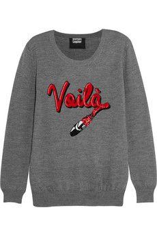 Gray merino wool Slips on merino wool Hand wash Merino Wool Sweater, Wool Sweaters, Markus Lupfer, Frame Denim, Graphic Sweatshirt, T Shirt, Knitwear, My Style, Sweatshirts