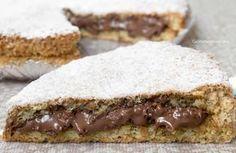 Crostata al cacao con ricotta e Nutella cremosa Nutella Recipes, Chocolate Recipes, Italian Desserts, Italian Recipes, Love Eat, Love Food, Cooking Cake, Cooking Recipes, Bakery Recipes