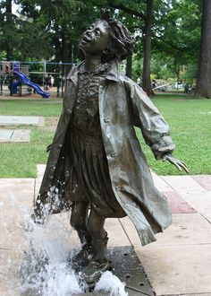1000 images about beverly cleary on pinterest beverly for Garden statues portland oregon