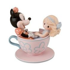 Disney Precious Moments Minnie You Are My Cup of Tea Figurine Disney Precious Moments, Precious Moments Figurines, Thing 1, I Cup, My Cup Of Tea, Tea Cups, In This Moment, Cards, Gifts