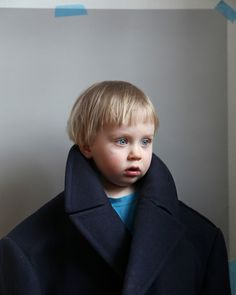 Arvi, by Sami Parkkinen, is a portrait of the photographer's son aged two in his own winter coat, taken from an ongoing series about relationships between fathers and sons