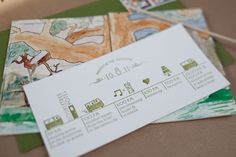 want to do something similar for our invitations. Jazzy Watercolor Letter Press Invites via Paper Crave.