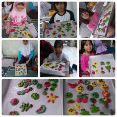 Rainbow cookies Cooking Class Garasi Lentik