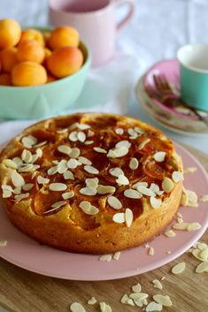 Gluten free upside-down apricot cake recipe! You're going to LOVE this! Diabetic Cake Recipes, Dairy Free Recipes, Baby Food Recipes, Apricot Dessert, Apricot Cake, Apricot Recipes, Almond Recipes, Sugar Free Desserts, Fun Desserts