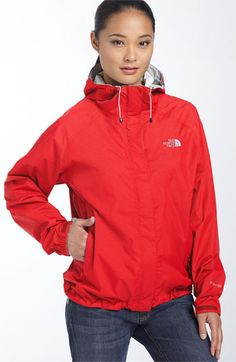 I love my North Face rain jacket! I have it in Red and Green! Now I just need it in Black.