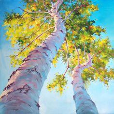 Fine Art and You: Ivan Alifan Jdanov Watercolor Trees, Watercolor Landscape, Landscape Art, Landscape Paintings, Watercolor Paintings, Painting Art, Watercolors, Canadian Painters, Canadian Artists