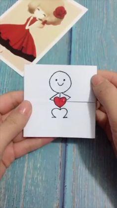 Cool Paper Crafts, Paper Crafts Origami, Diy Paper, Paper Crafting, Fun Crafts, Magic Crafts, Paper Gifts, Creative Crafts, Diy Crafts Hacks