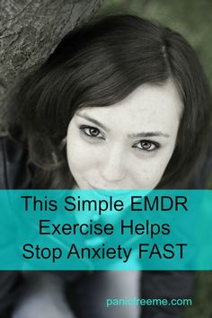 This Simple Technique Helps Stop Anxiety FAST. I've been using this on myself and my anxious patients with great success. All you need is anxiety and your 2 eyes. Give it a try!: