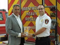 Brentwood Fire Department is now equipped with LifeVac