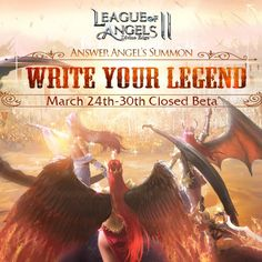League of Angels II Closed Beta Begins March League Of Angels, Begin, March, Writing, Multimedia, Wire, News, Business, Store