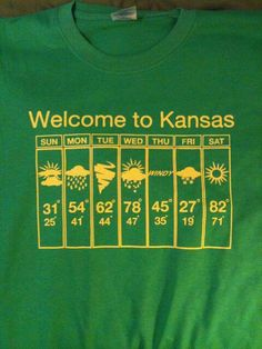 Just a typical week in Kansas!!